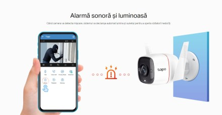TP-LINK Tapo C310 alarma