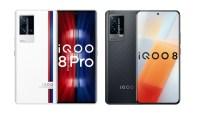 iQOO 8 şi iQOO 8 Pro – telefoane cu ecrane OLED la 120 Hz, procesor Snapdragon 888+ și 120W Fast Charging