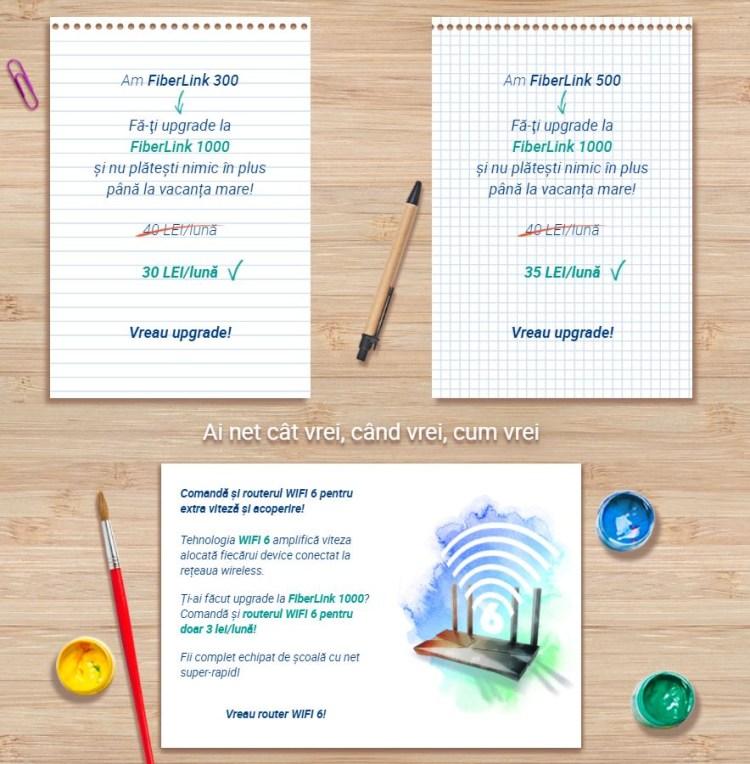 Back to School de la Digi îți aduce FiberLink 1000 la costul actualului tău abonament