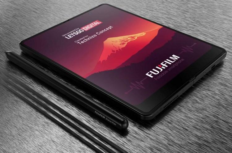 Fujifilm prezinta un brevet pentru un telefon pliabil