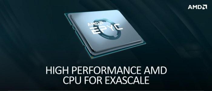AMD EPYC din a doua și a treia generație vor alimenta un nou supercomputer numit Polaris