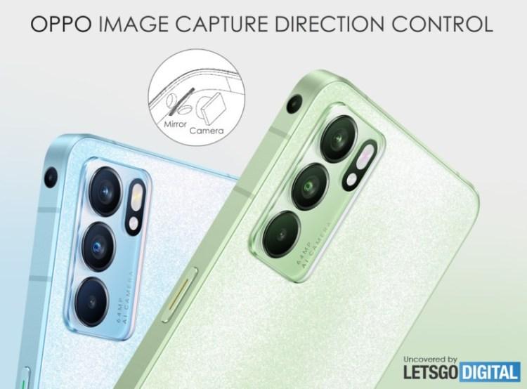 OPPO pregătește un smartphone cu camera amplasată pe... muchia laterală