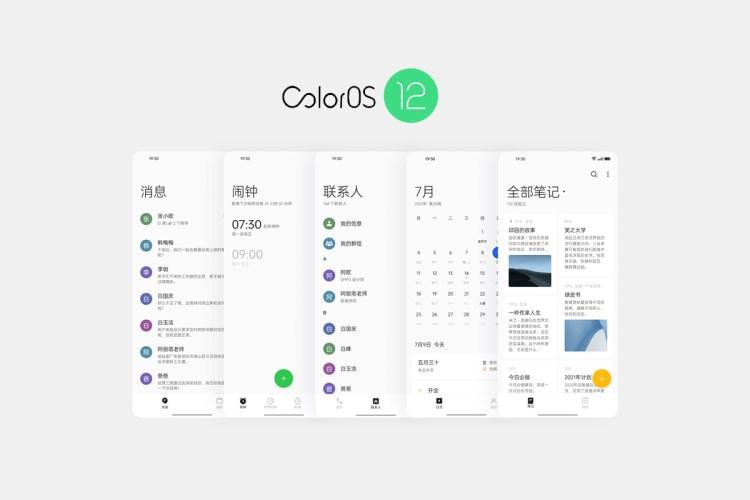 OPPO lansează sistemul de operare ColorOS 12 bazat pe Android 12