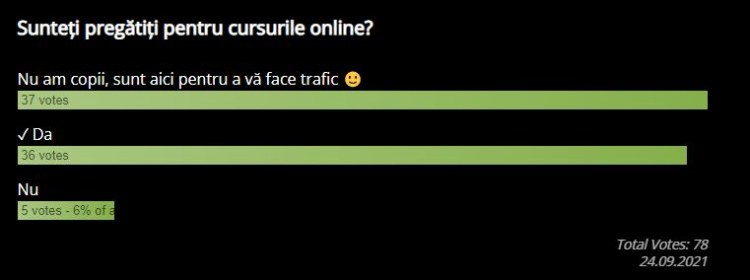 Rezultate sondaj: sunteți pregătiți pentru cursurile on-line?