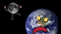 Știați că… luna se depărtează de Terra în mod constant?