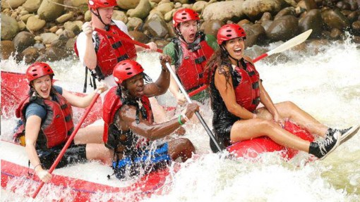 Rafting Tours From: $65.00 p/p