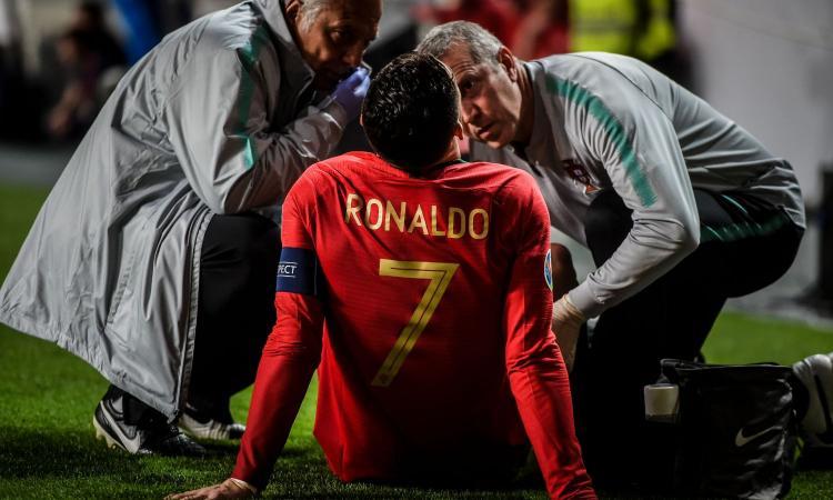 Ronaldo Tak Khawatir Dengan Cedera Hamstringnya