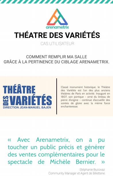 Témoignage client - Théâtre des variétés