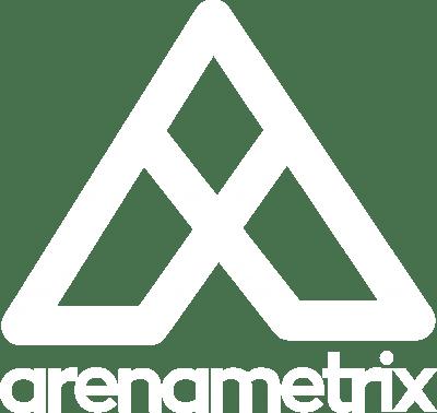 Logo Arenametrix détouré blanc HD
