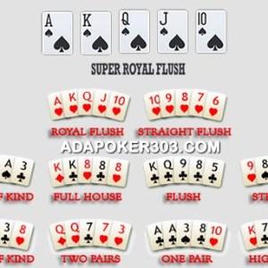 kombinasi kartu poker