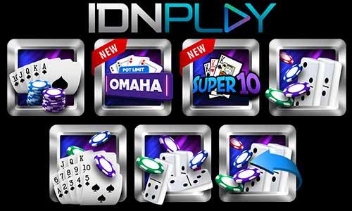 Jenis Permainan Yang Terdapat Pada Situs IDNPLAY