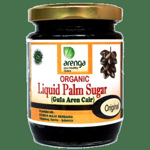 Organic Liquified Palm Sugar Jar