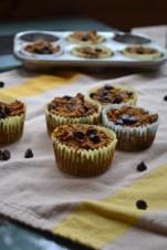 2. Baked Pumpkin Oatmeal Cups