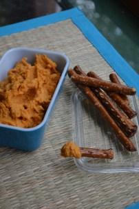 Spiced Sweet Potato Hummus