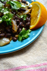 Chipotle Orange Black Beans