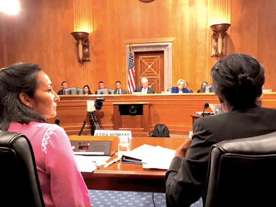 Ayaan Hirsi Ali Asra Nomani testifying