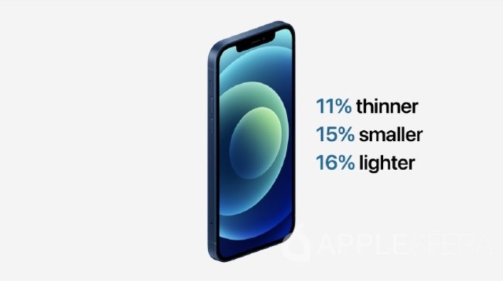 mas ligero iphone 12