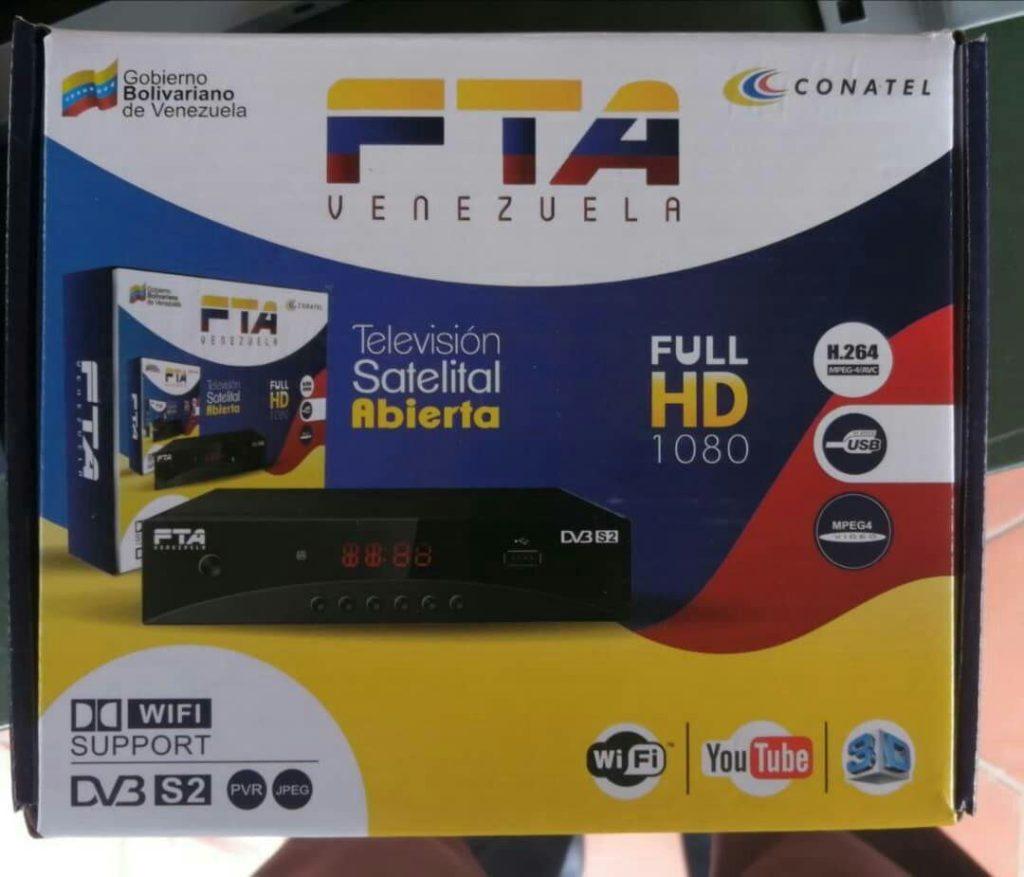Deco FTA Venezuela para televisión satelital abierta