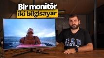 Dünyanın ilk kavisli UHD monitörü Samsung UR59C inceleme