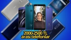 2000 – 2500 TL arası en iyi akıllı telefonlar