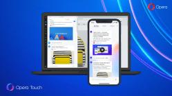 Opera Touch'a karanlık mod müjdesi!