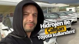 Hidrojenle çalışan Toyota Mirai ile gezdik