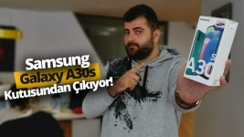 Samsung Galaxy A30s kutudan çıkıyor! (Video)