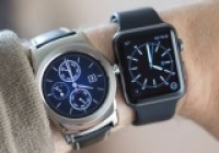 LG Watch Urbane ile Apple Watch Yan Yana