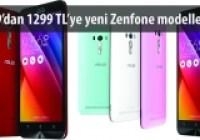 Zenfone Laser, Selfie ve Go Tanıtıldı