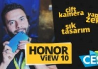 Honor View 10 ön inceleme CES 2018