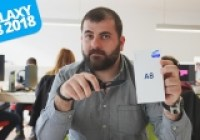 Samsung Galaxy A8 2018 kutusundan çıkıyor