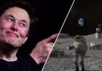 Elon Musk'tan ilginç Ay görevi paylaşımı