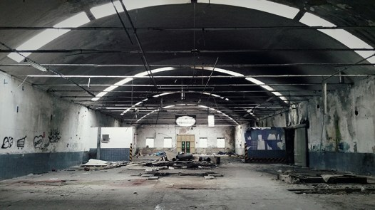 Abandoned factory in Prato