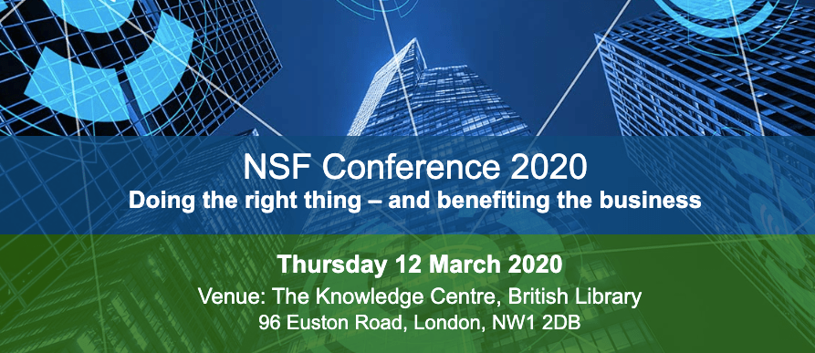 NSF Conference 2020 Doing the Right Thing