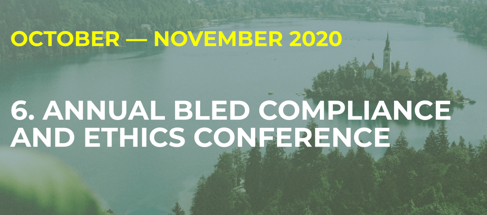 Header 6th Annual Bled Compliance & Ethics Conference
