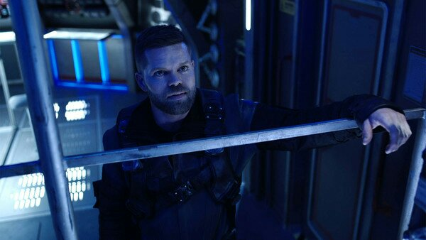 the expanse syfy Amos on Roci