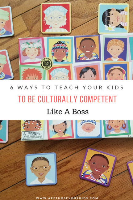 Expose your children to the world around them through diversity and immersion. Read about 6 ways you can teach your kids to be culturally competent.