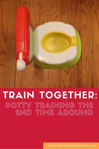 Train Together: Potty Training the 2nd time around