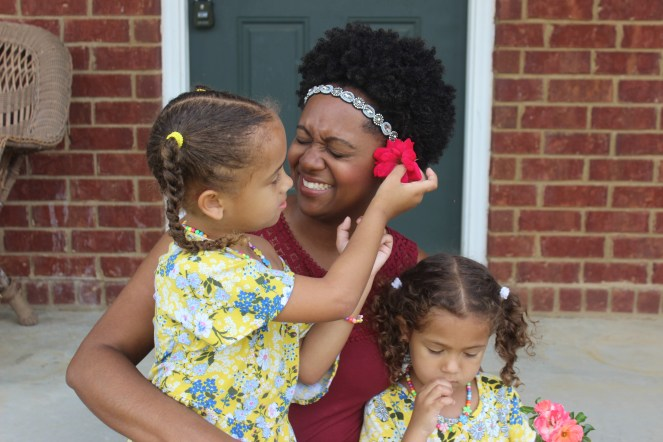 Parenting biracial daughters comes with a unique set of challenges. People often question their identity based on their physical appearance.