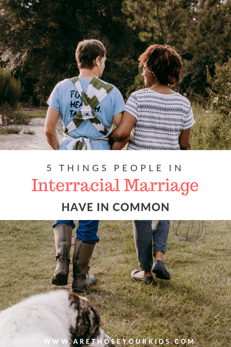 Research shows that more Americans are choosing to marry outside of their race. Interracial couples have several common threads that bind them.