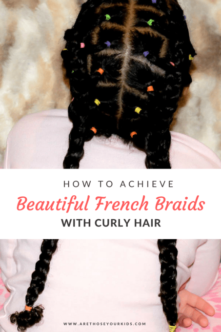 Achieving french braids on mixed curly hair can prove to be a challenge. In this post, you'll learn a few tricks to make styling french braids much easier!