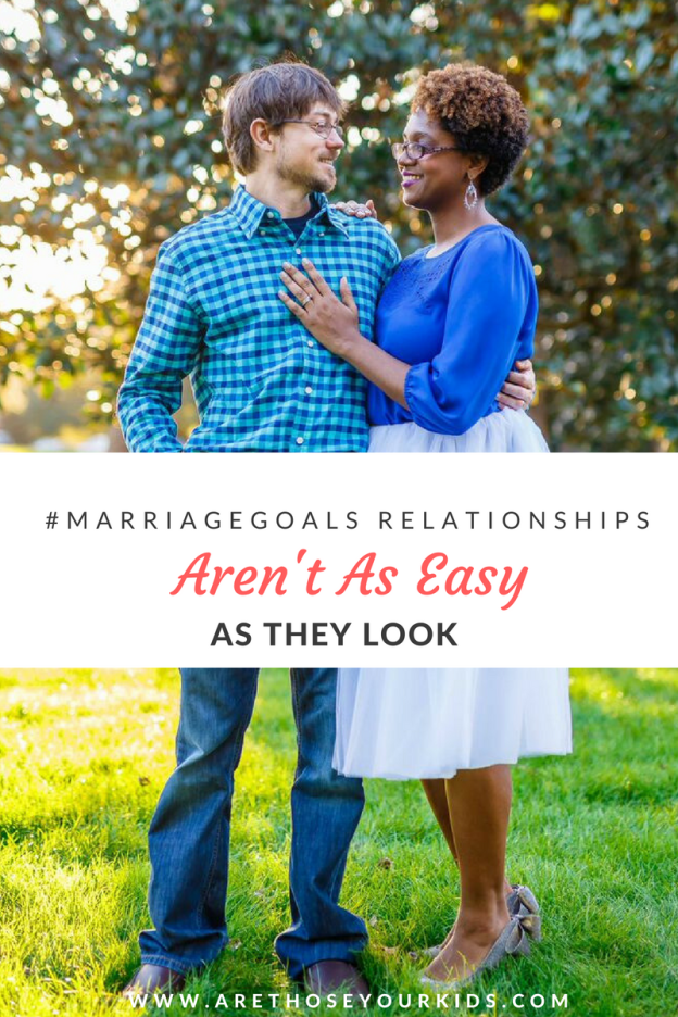 In an age of social media giving us an inside look at people's lives, it's easy to get sucked into perfectly posed pictures and #marriagegoals fantasies.