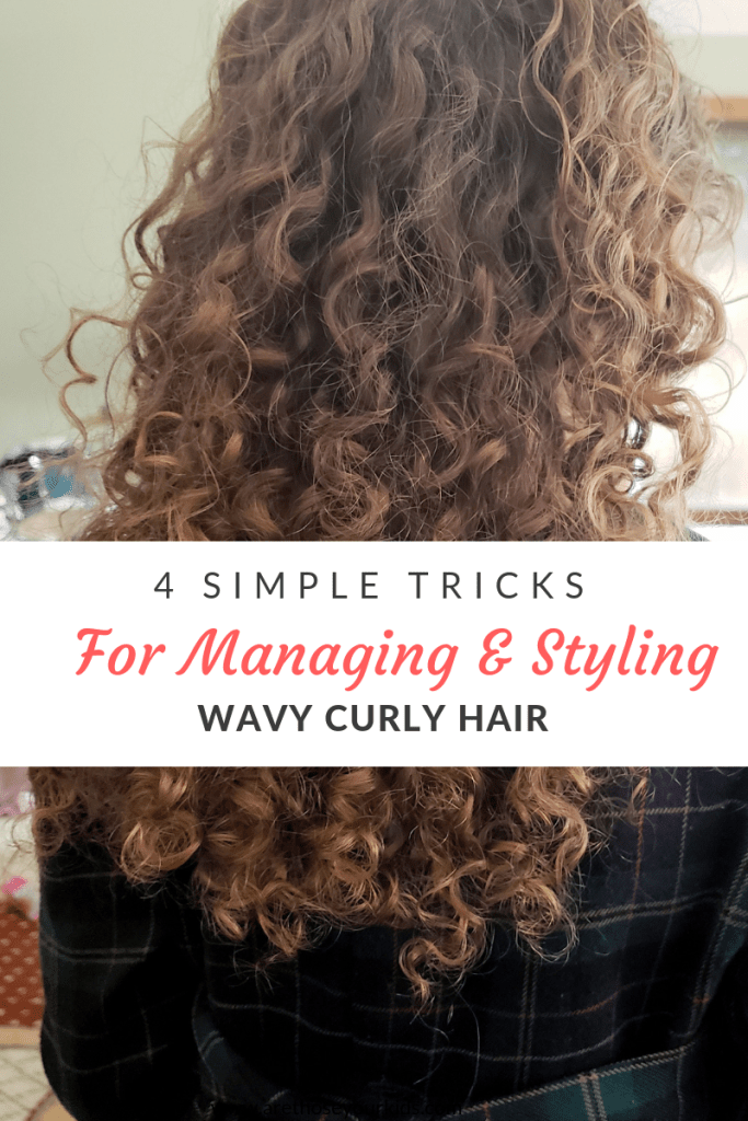 Learning to manage and style wavy curly hair can be a challenge because while it is not completely straight, it is not completely curly either.
