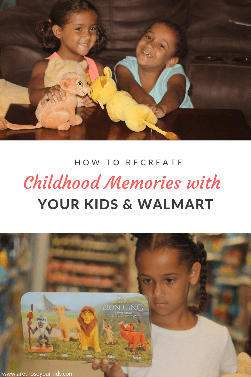 How to Recreate Childhood Memories with Your Kids & Walmart