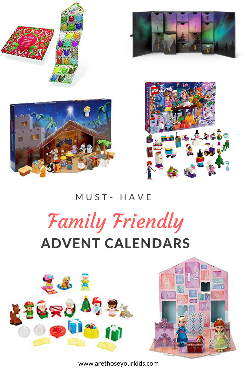 This Season's Must Have Family Friendly Advent Calendars