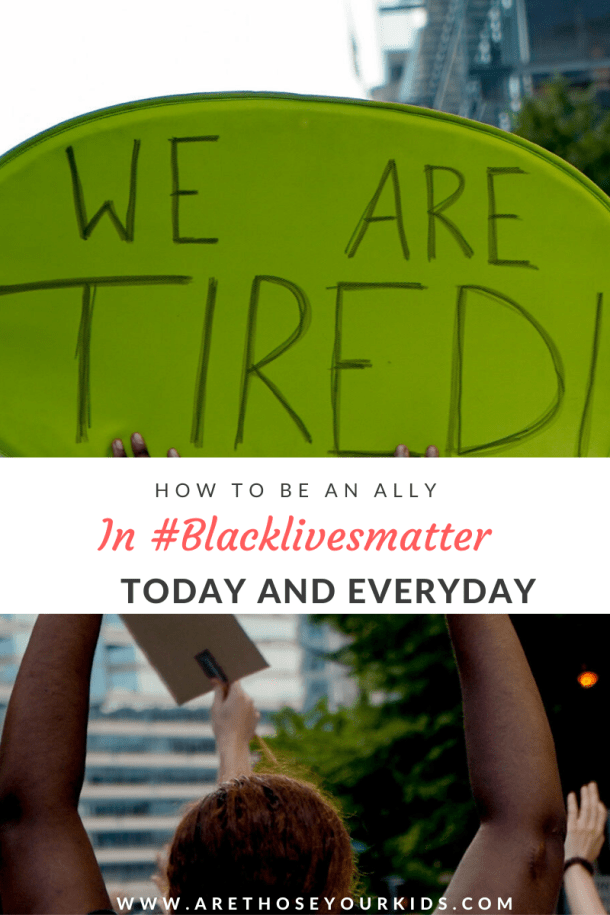 Black Lives Matter has motivated people to be a part of a movement driven to make systematic change. Here are a few easy tips on how to be an ally of #BLM.