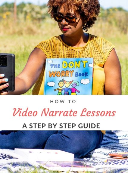 Learning how to video narrate your lessons personalizes the instruction you are providing for your students while they are learning virtually.