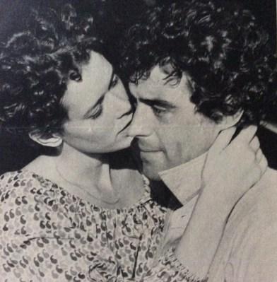 Sylvia Kristel and Ian