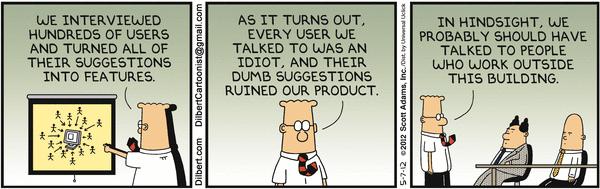 Dilbert cartoon