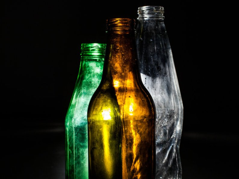 Ergonomic soda bottles